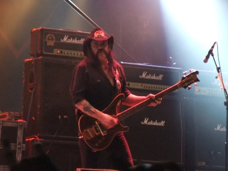 Motorhead live in Paris
