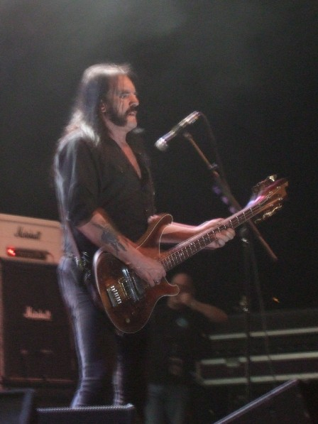 Lemmy from Motorhead in Paris - November 26, 2008