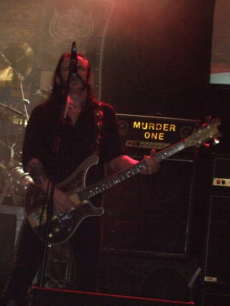 Lemmy and his Murder One -  Motorhead in Paris - November 26, 2008