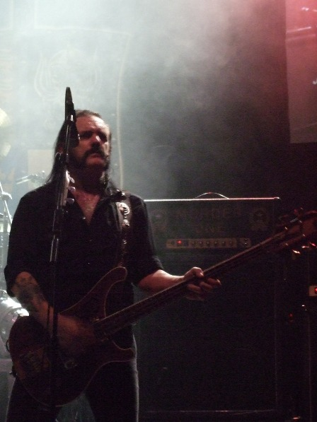 Lemmy Kilmister and the famous Murder One