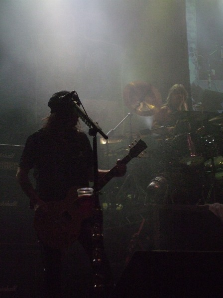Phill Campbell live with Motorhead in Paris
