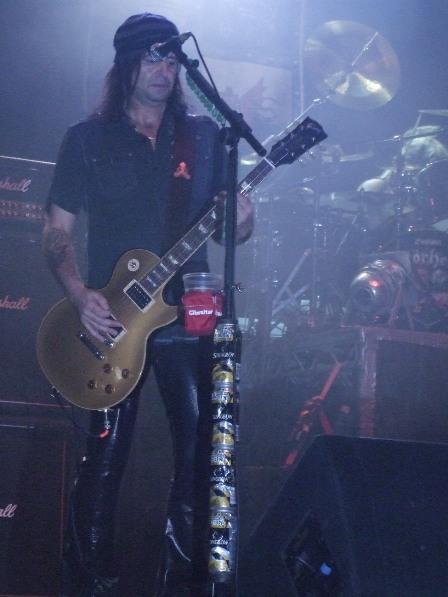 Phill Campbell from Motorhead in Paris - November 26, 2008