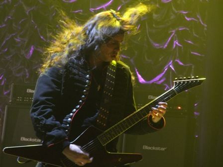 Gus G. from Ozzy Osbourne in Paris