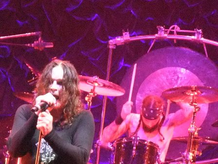 Ozzy and Tommy Clufetos