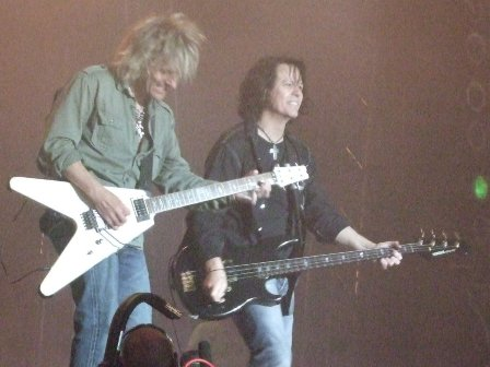 C.C. Deville and Bobby Dall from Poison - Sweden Rock Festival - June 7 2008