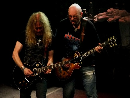 Saxon Guitars: Doug Scaratt and paul Quinn