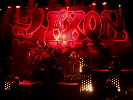 Saxon at the Bataclan in Paris