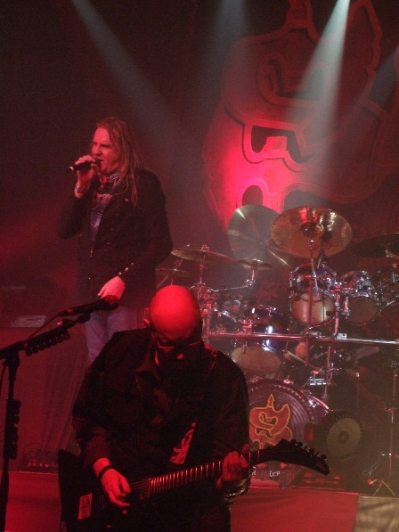 Saxon Live at the Bataclan, Paris, France - February 1st 2009