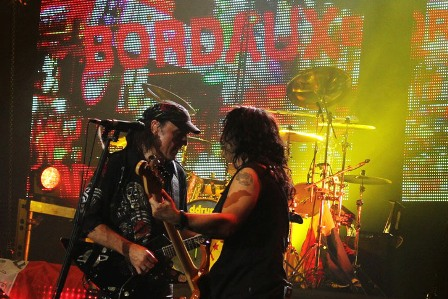 Scorpions live in Bordaux (not Bordeaux)