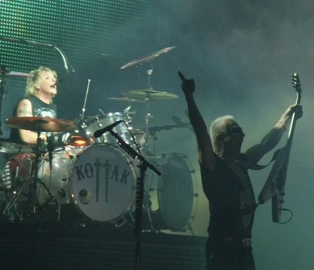 James Kottak and Michael Schenker live