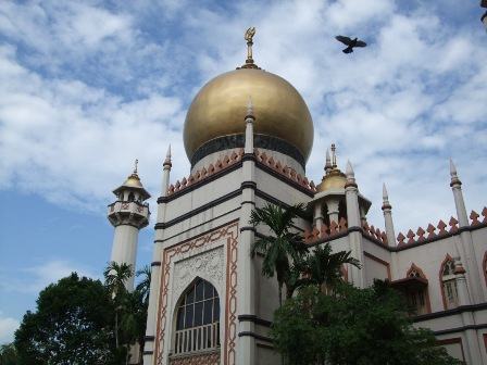 Sultan Mosque Singapore Picture on Kampong Glam  Singapore   Trip To Asia 2009   Metal Traveller