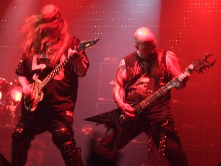 Kerry King and Jeff Hanneman from Slayer Live in Paris, November 11 2008