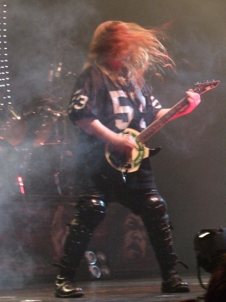 Jeff Hanneman of Slayer in Paris, November 2008