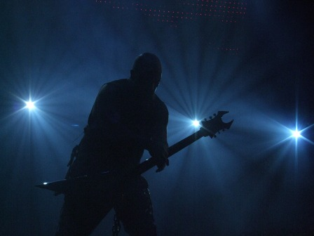 Kerry King of Slayer Live in Paris, November 11 2008
