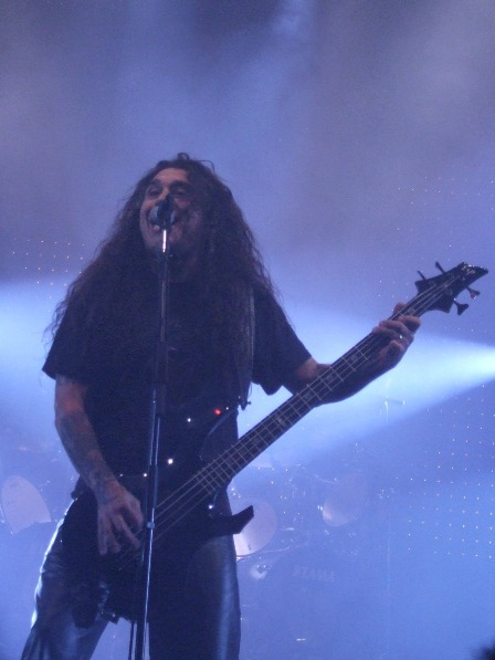 Tom Araya of Slayer Live in Paris, November 2008
