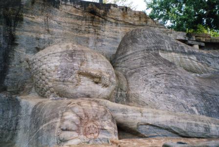 Sri Lanka Buddha Polonnaruwa Gal Vihara