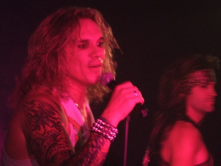 Steel Panther in Germany: Michael Starr