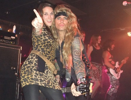Number one French Steel Panther fan