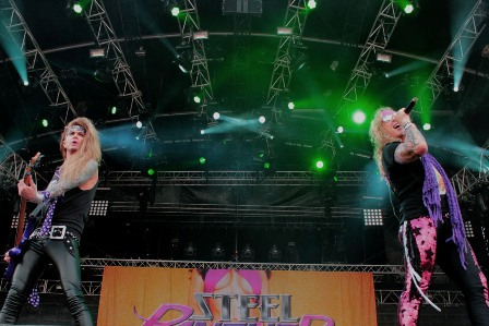 Steel Panther at Hellfest