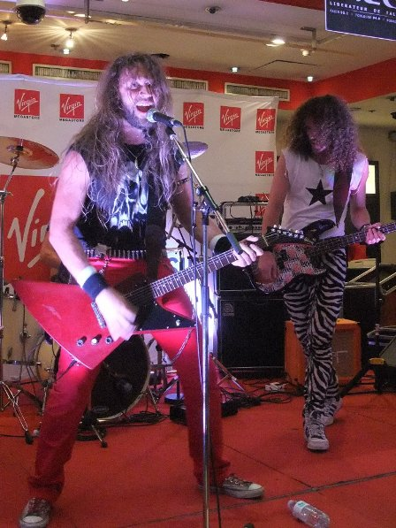 The Sticky Boys at Virgin Megastore