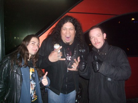 Metal Traveller, Chuck Billy and Ricardo in Stockholm
