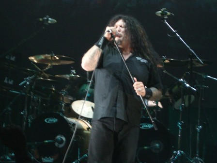 Chuck Billy - Testament live in  Stockholm, Sweden - February 28 2009
