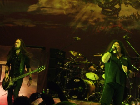 Greg Christian and Chuck Billy - Testament live in  Stockholm, Sweden - February 28 2009