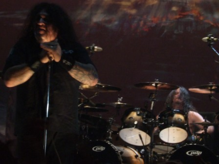 Chuck Billy and Paul Bostaph - Testament live in  Stockholm, Sweden - February 28 2009