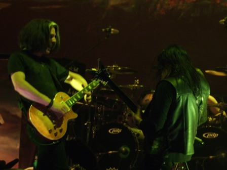 Alex Skolnick and Eric Peterson - Testament live in  Stockholm, Sweden - February 28 2009