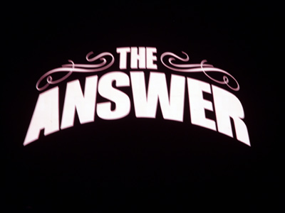 Answer, The