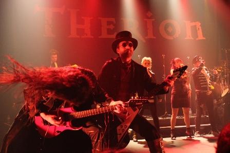 Therion à Paris - Flowers Of Evil Tour -  Bataclan 2012