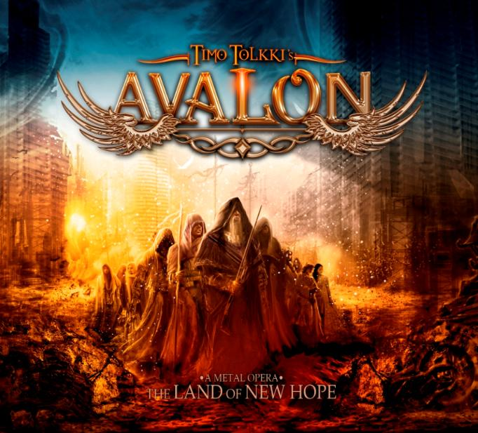 Cover of Timo Tolkki's Avalon's album The Land Of New Hope