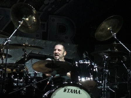 AJ Pero from Twisted Sister live at the Bang Your Head