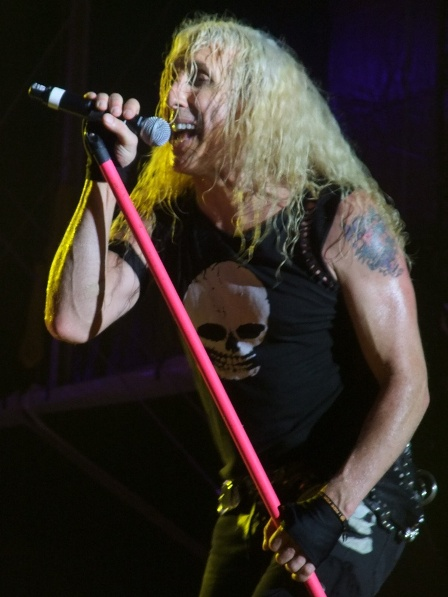 Dee Snider from Twisted Sister live at the Bang Your Head