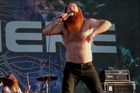 Valient Himself from Valient Thorr at Sonisphere Getafe Open Air in Madrid, Spain