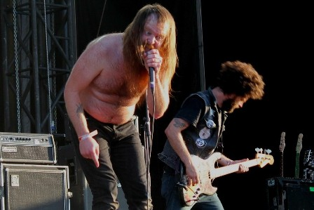 Valient Thorr at the Sonisphere Festival in Madrid