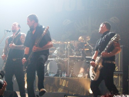 Volbeat live at the Hof Ter Lo, Antewerpen, Belgium, October 11 2008