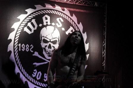 Doug Blair - W.A.S.P. au Bataclan 2012