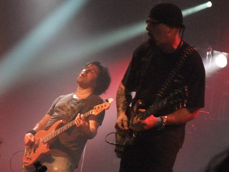 Richard Day and Tony Portaro from Whiplash in Wacken - July 31 2009