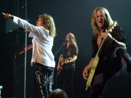 Whitesnake live in Paris - Casino de Paris - June 4 2009