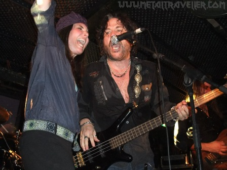 Fiona and Kip Winger