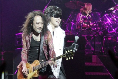 Pata and Toshi - X Japan live in Paris