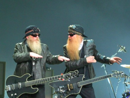 ZZ Top dancing in Paris